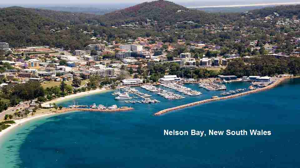 Nelson Bay Aerial